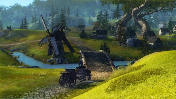 ArcheAge - Carriage on a Road