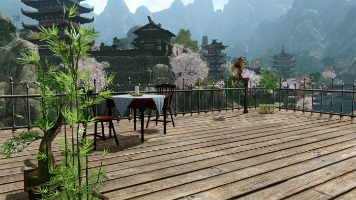 ArcheAge - Housing Patio