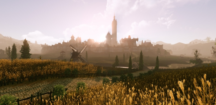 ArcheAge - Wheat Field City