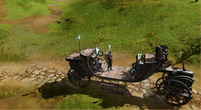 ArcheAge - On the Trade Bus
