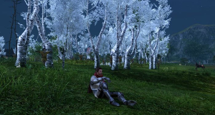ArcheAge - Sitting While Farming