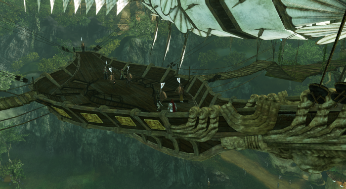 ArcheAge - Trade on the Airship