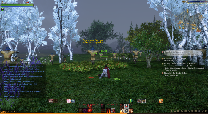 ArcheAge - User Interface