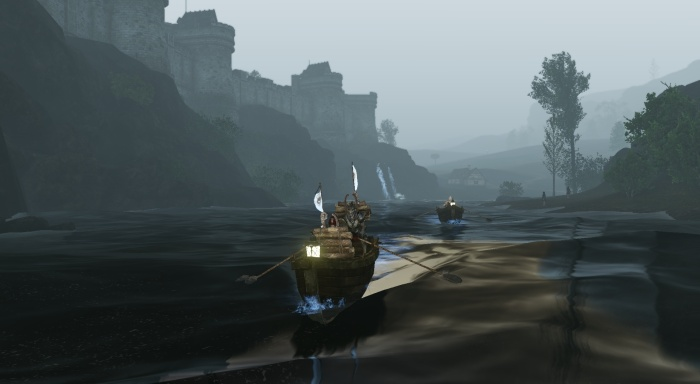ArcheAge - Marionople Trading at Night