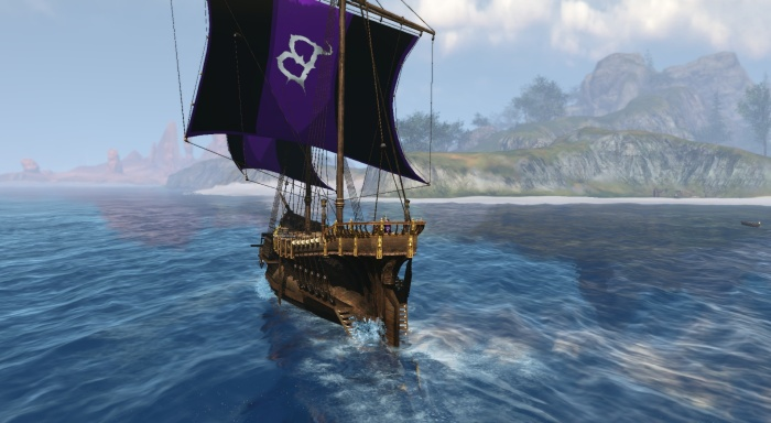 ArcheAge - Captaining the Blackthorne Galleon