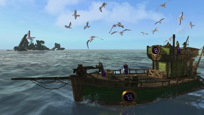 ArcheAge - Fishing Boat