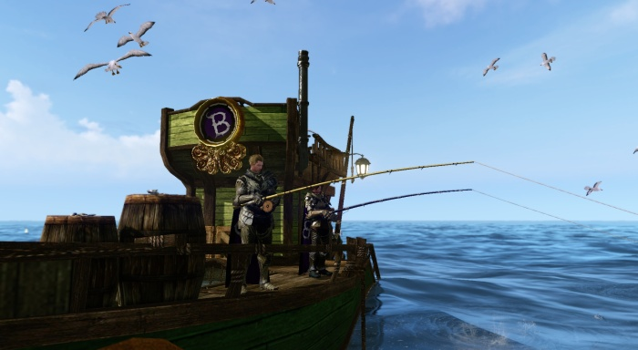 ArcheAge - Fishing on the Boat