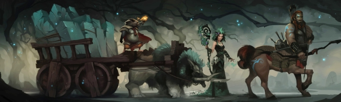 Crowfall - Caravan Party Banner