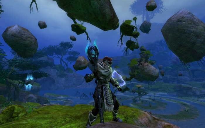 Guild Wars 2 - Morgan's Spiral Jumping Puzzle