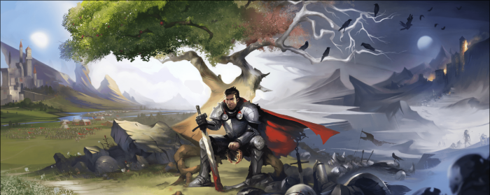 Crowfall - Crown Knight Banner