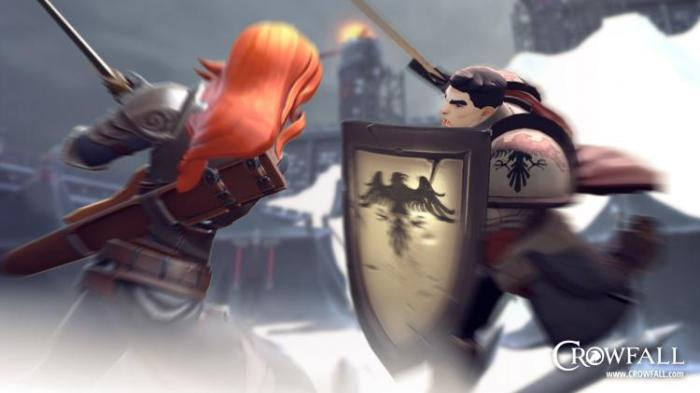 Crowfall - Knight vs Templar Promotional