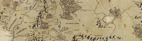 Middle Earth Map Banner