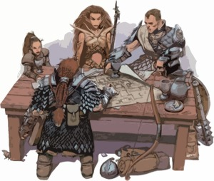 RPG Tabletop Adventurers