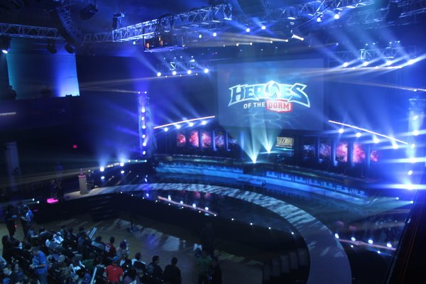 Heroes of the Dorm Stage