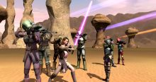 Star Wars Galaxies Group Shot