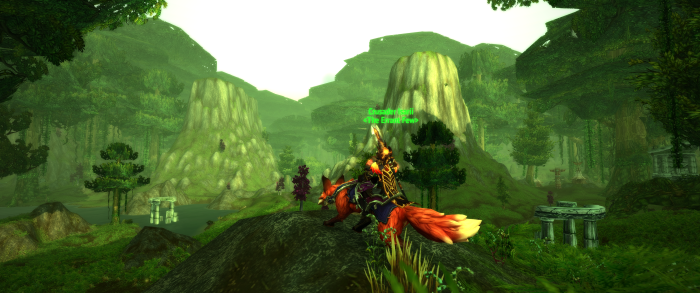 Warcraft Fox Mount Travel